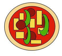 Pizza cutting and gluing activity - Pinned by @PediaStaff – Please Visit http://ht.ly/63sNt for all our pediatric therapy pins