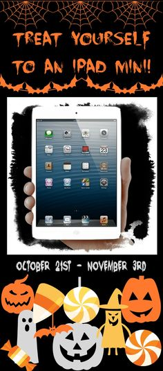 Treat+Yourself+to+a+new+iPad+Giveaway!+Win+an+iPad+mini+16GB+with+Wi-Fi!