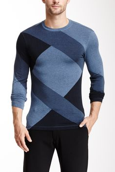 Tonal Geometric Print Shirt on HauteLook