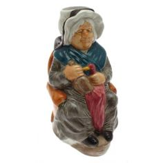 WOOD AND SONS MRS GAMP TOBY JUG FROM THE CHARLES DICKENS TOBY JUG COLLECTION