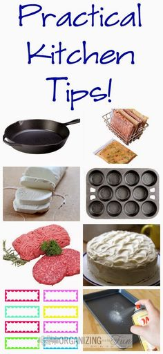 Practical Kitchen Tips :: OrganizingMadeFun.com