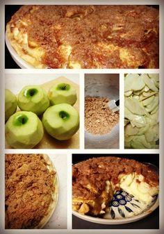 Sour Cream Apple Pie from @Candace Renee Renee Majeska Cooper = www.candiecooper.com