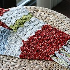 Shell Crochet Scarf