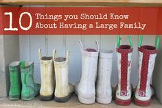 What You Need to Know About Having a Large Family