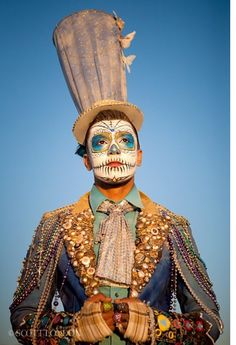 Day of the dead, there's something for men too!