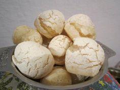 Pão de queijo light   Receita