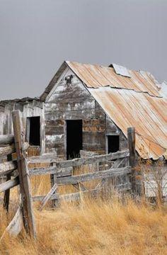 Ramshackle Of A Barn