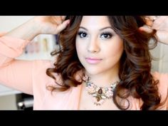 Valentine's Day Hairstyle and MakeUp / Tutorial
