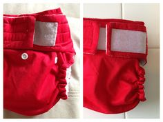 Tutorial: How to refresh a worn out Happy Heinys diaper with new Velcro.