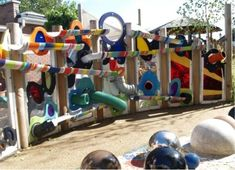 Giant Marble Run For Playground Balls
