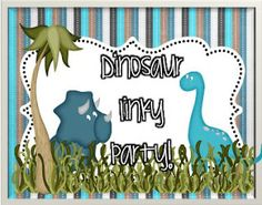 Dino Linky Party!  Great dino-finds!