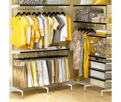 Freestanding Walk-In Closet - Home and Garden Design Ideas
