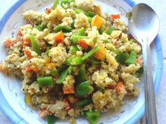 Peppers, Carrot and Tomato Upma uses cream of wheat/semolina