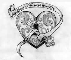 key to my heart tattoo - Google Search