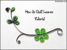 Quill Leaves (artplatter.com)