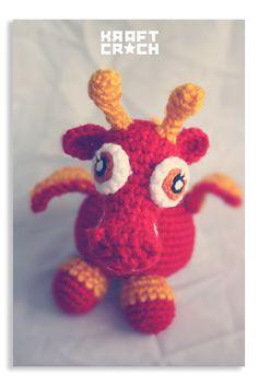 dragones bebés / #amigurumi #baby #dragon #crochet