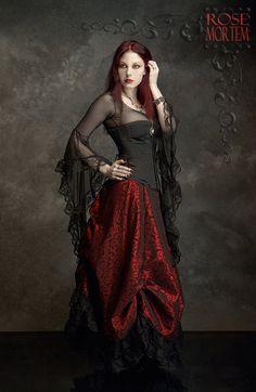Lavinia Mesh Lace Fairy Top / Shirt  Custom Elegant by rosemortem, $109.00
