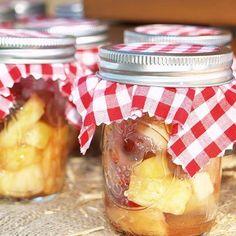 Mason Jar Apple Dessert