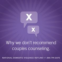 we have different interests relationship counseling
