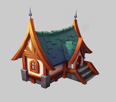 ArtStation - House,