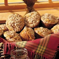 Pumpkin-Apple+Muffins+with+Streusel+Topping