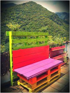 Pallets Bench / Banc de palets