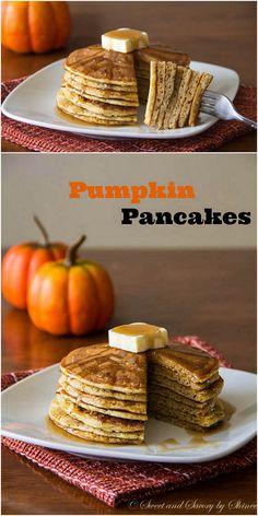 Pumpkin Pancakes ~ Sweet and Savory by Shinee