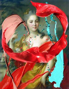 Fine Art Remixed, Appropriation art, thomasr image 21
