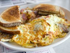 Why every diner should serve a gyro omelet.