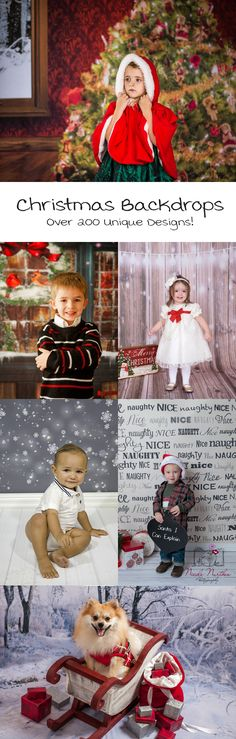 Christmas Backdrops