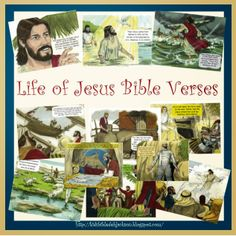 Life of Jesus Bible Verses