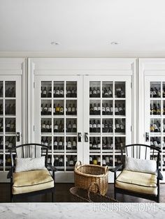 French Country Cellar | Photo Gallery: Gorgeous Wine Cellars | House & Home | Photo by Angus Fergusson