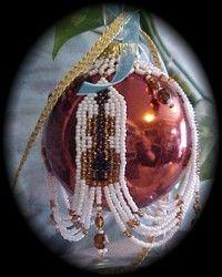 bead christma, bead ornament, ornament cover, christmas ornaments, christma ornament