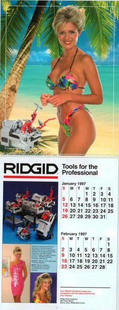 RIDGID Calendar Jan - Feb 1997