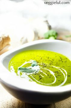 Broccoli Curried Soup