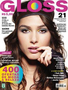Revista Gloss - Edição Número 21 - Fernanda Machado- Jun/09