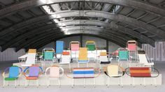 marni: 100 chairs made by colombian ex-prisoners