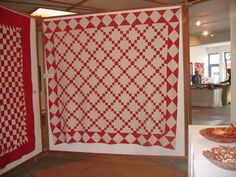I SEW QUILTS: More Red and White