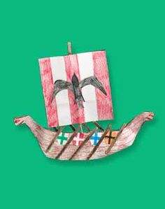 Viking Ship craft from crayola.com http://www.crayola.com/lesson-plans/detail/westward-with-the-vikings!-lesson-plan/