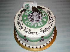 Coffee Buck Birthday Cake Designs