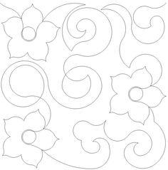 Flower Swirls $.0125