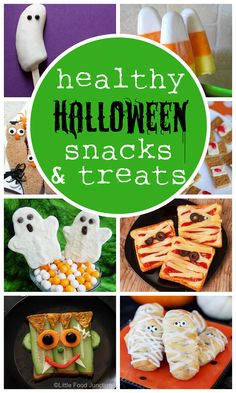 Cute and healthy Halloween snacks