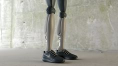 NIKE robotic sneakers by Simeon Georgiev