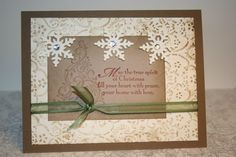 gorgeous Christmas Card@Anista Designs/etsy