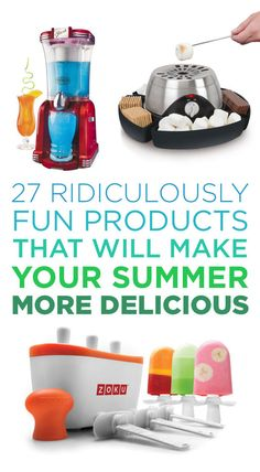 27 Ridiculously Fun Products That Will Make Your Summer More Delicious