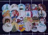 Christmas Card Placemats