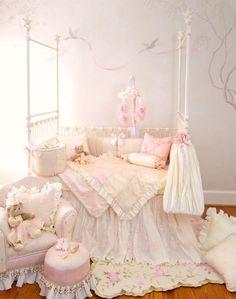 "Glenna Jean ""Ava"" Crib Bedding Set w/FREE Shipping | #babybedding | #tinytotties"