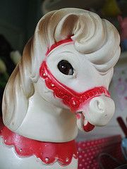 Vintage toy horse. Learn about your collectibles, antiques, valuables, and vintage items from licensed appraisers, auctioneers, and experts at BlueVault. Visit:  http://www.bluevaultsecure.com/roadshow-events.php