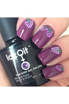 Poof! You're purple LacQit one step gel polish www.lacqit.com