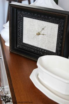 Make it: A Picture Frame Clock Craft